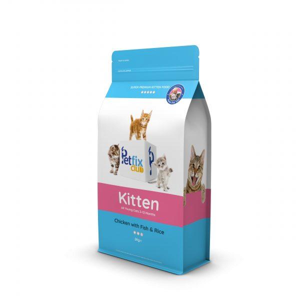 Petfix Kitten Chicken with fish cat food