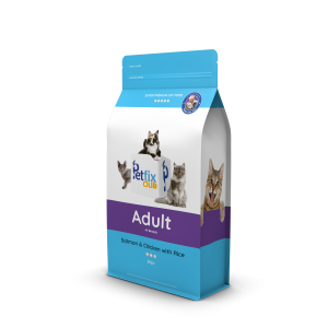 Petfix Adult Cat Food Salmon and Chicken
