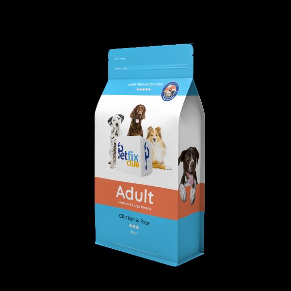 PetFix Dog Adult Chicken Medium and Large Breeds