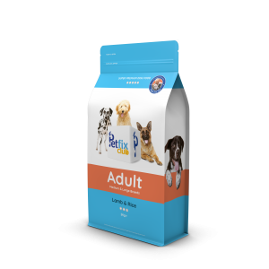 Petfixadult dog food lamb