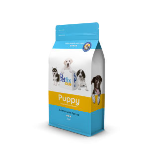 Petfix puppy food salomon