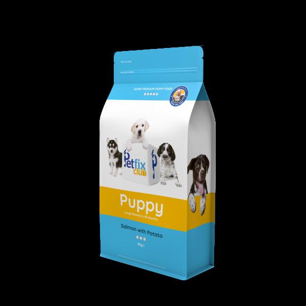 Petfix puppy food salomon