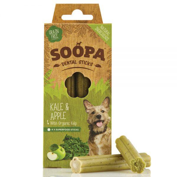 SOOPA Dog Dental Sticks Kale and Apple