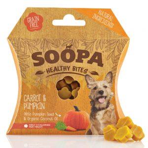 SOOPA Dog Healthy Bites Carrot and Pumpkin