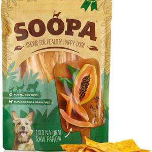 SOOPA natural Raw Papaya treats