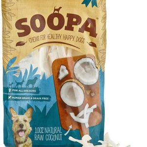 SOOPA natural Raw Coconut Dog Treats