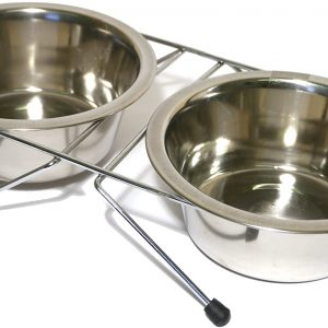 Chanelle Pet Stainless Steel Double Diner