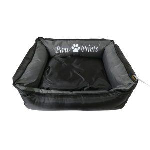 Kool Lounger Black Waterproof Dog bed