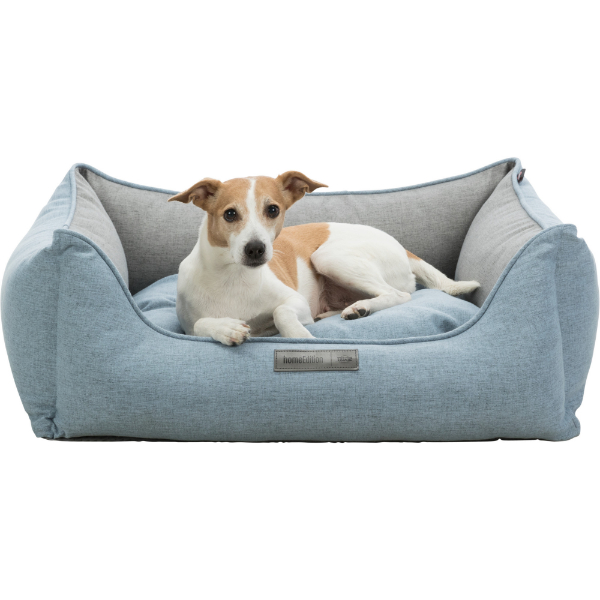Trixie Lona bed blue and grey medium