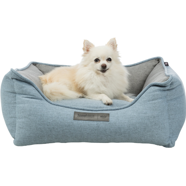 Trixie Lona bed blue and grey