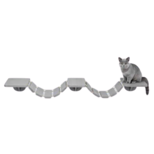 Trixie Wooden Cat Climbing Ladder with Cat