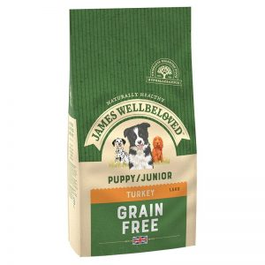 James Wellbeloved Grain Free Puppy /Junior Food Turkey