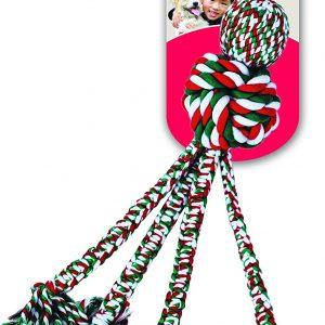 kong Holiday Wubba Weave Rope