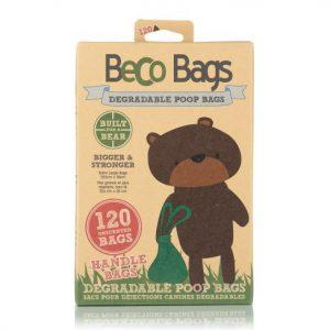 beko handle bags degradable poop bags