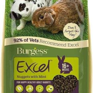 Burgess Excel Nuggets with Mint Adult Rabbit Food,