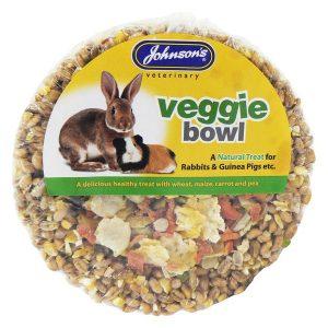 Johnsons Vet Rabbit & Guinea Pig Treat Bowl