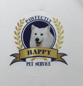 Pawfectly happy pet services Logo