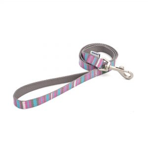 Ancol Recycled Pink Candy Stripe Dog Lead