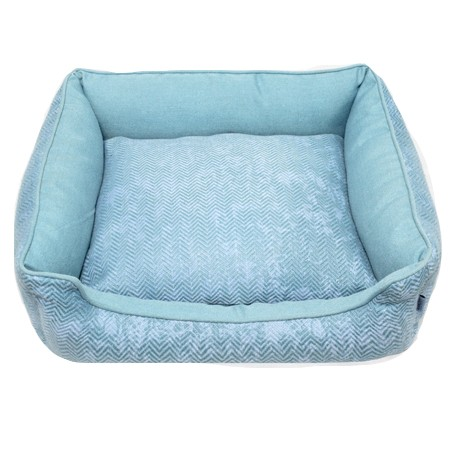 Resploot Lagoon Blue Sofa dog Bed