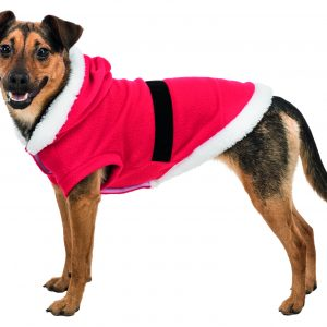 trixie santa dog coat
