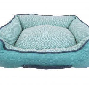 Resploot Teal Snakeskin Sofa Bed