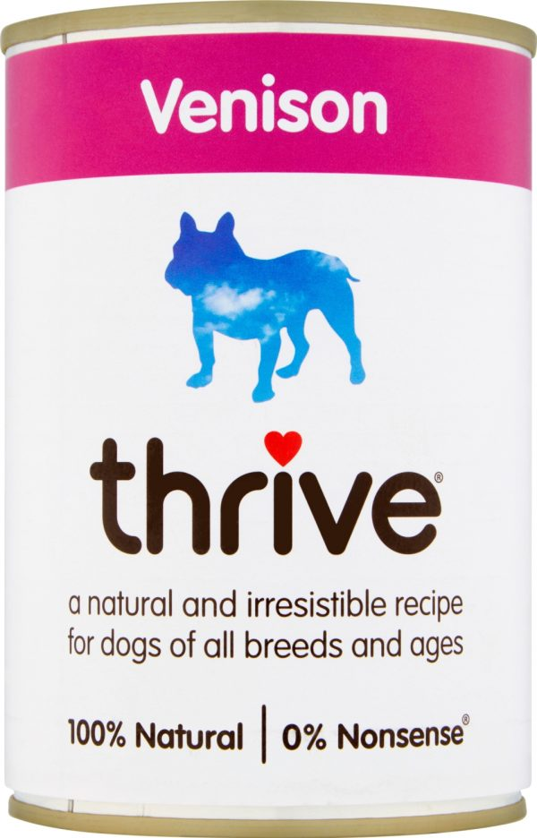 Thrive Dog Wet Venison