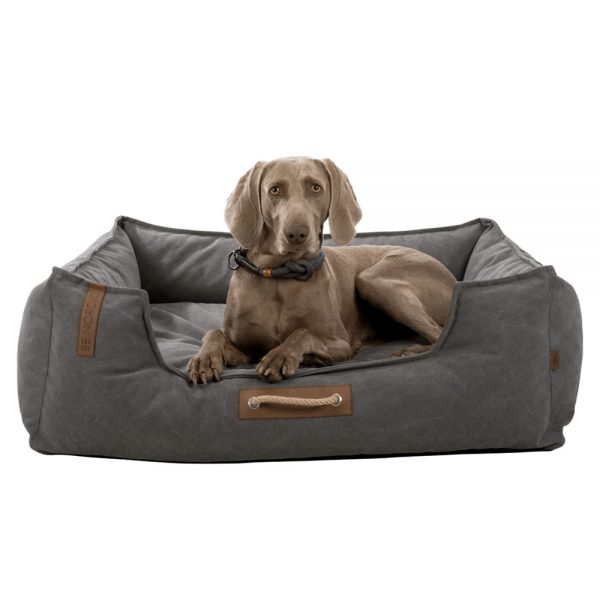 Trixie Be Nordic Fohr Dog Sofa Bed Grey