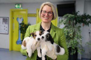 Becky Bristow, CEO of Dogs Trust Ireland.
