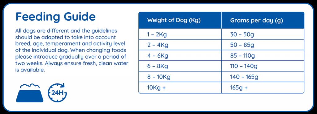 dog small breed feeding guide