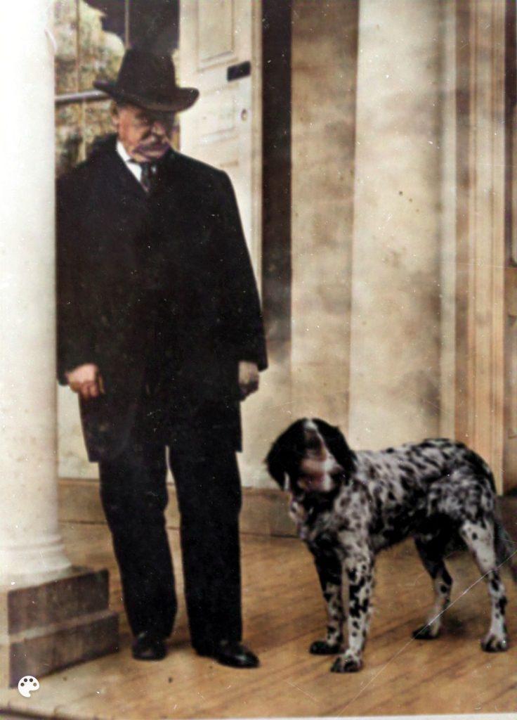 Grover Cleveland dog Gallagher