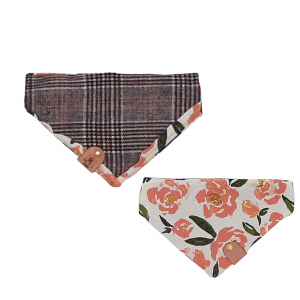 One of a Kind Reversible Bandana for Dog