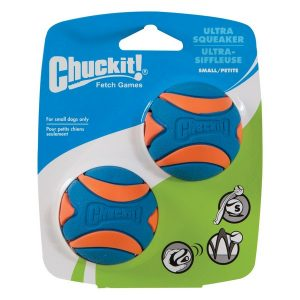 Chuckit Ultra Squeaker Ball Small 2Pk