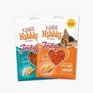 Catit Nibbly Jerky two pack