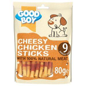 GOOD BOY Cheesy Chicken Sticks