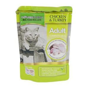 Natures Menu Cat Pouches Chicken with Turkey