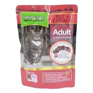 Natures Menu Cat Pouches Beef and Chicken