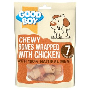 GOOD BOY Chewy Bones Wrapped with Chicken
