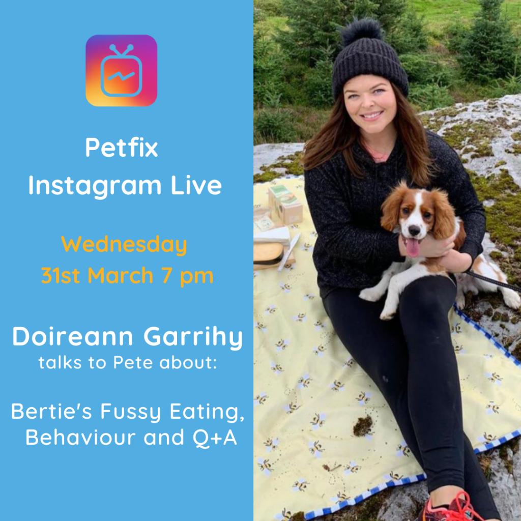 doireann garrihy and dog bertie