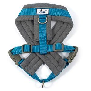 Ancol Viva Padded Harness Blue