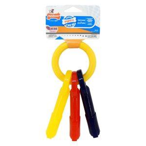 Nylabone Bacon Puppy Keys Chew