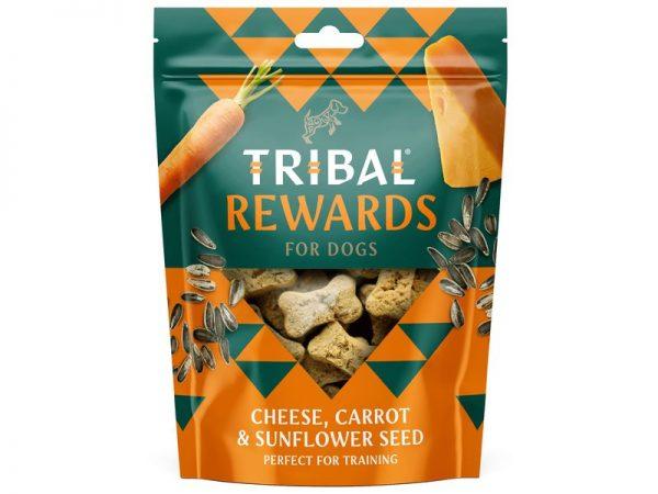 Tribal Cheese, carrot &sunflower seed treats