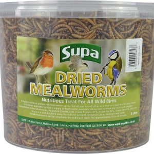Supa Dried Mealworms for Wild Birds,