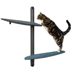 Modern Mini Wall-Mounted Cat Tree