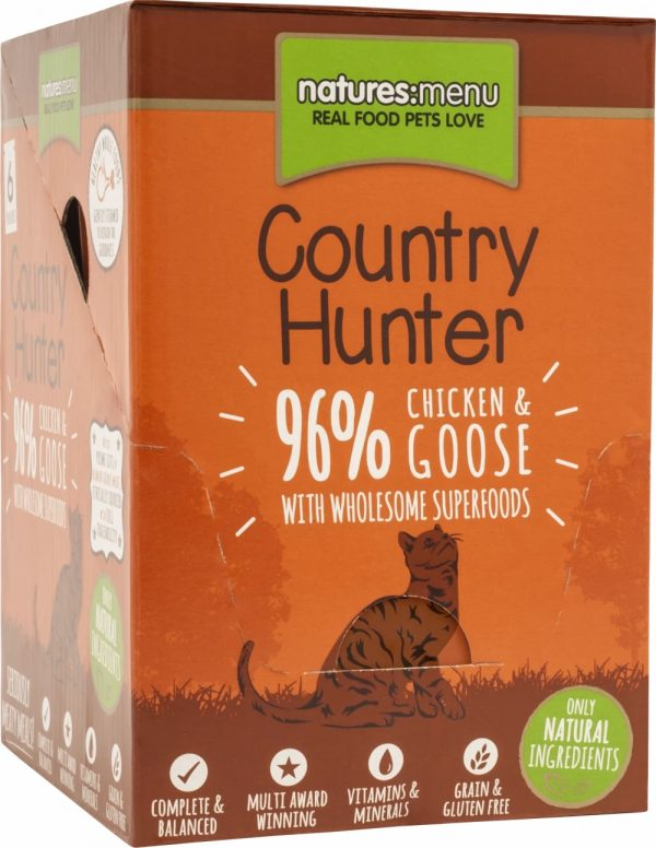 Country Hunter Cat Pouches Chicken and Goose