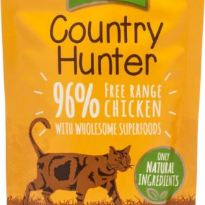 Country Hunter Cat Pouches Free Range Chicken