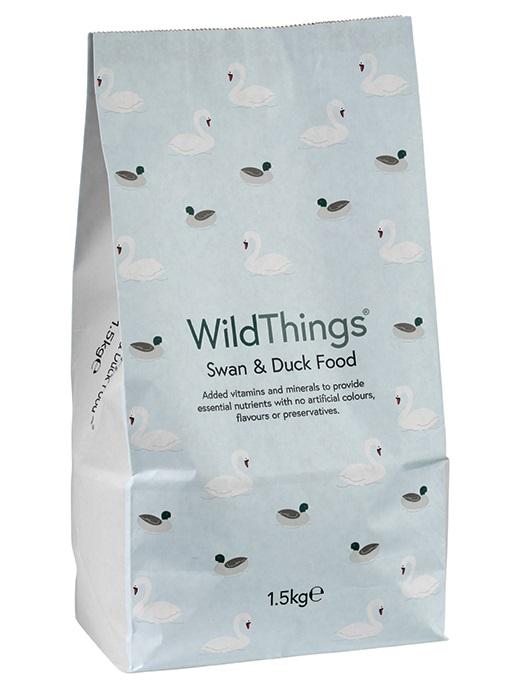 WildThings Swan & Duck Food