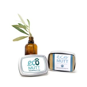 Eco Mutt Dog Soap in Soap Tin - Unscented Shea Butter