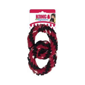 KONG Signature Rope Double Ring Tug