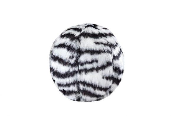 Fluff & Tuff Zebra Ball